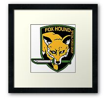 Metal Gear Solid - FOXHOUND Framed Print