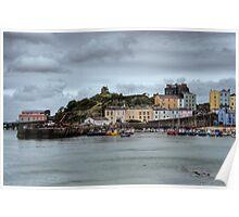 Tenby Harbour Pembrokeshire 8 Poster