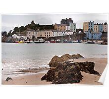 Tenby Harbour Pembrokeshire 9 Poster