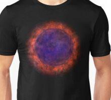 Burning Blue Sun Unisex T-Shirt