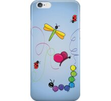 bug tracks iPhone Case/Skin