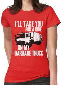 Sex Bob-Omb - Garbage Truck - Scott Pilgrim  Womens Fitted T-Shirt