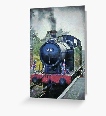 La Gare Cranmore Greeting Card