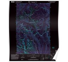 USGS Topo Map Washington State WA Billy Goat Mountain 240060 2002 24000 Inverted Poster
