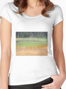 Kootenay National Park 1, Alberta, Canada Women's Fitted Scoop T-Shirt