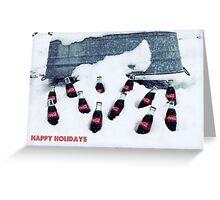 Coca-Cola Holiday Greeting Card