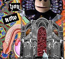 Jesus Hates You Now - Movie Poster by lumalin