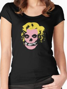 Misfit Marilyn Women's Fitted Scoop T-Shirt