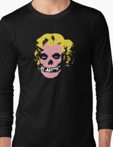 Misfit Marilyn Long Sleeve T-Shirt