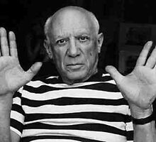 Pablo Picasso by sbrosszell