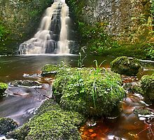 Wharfedale Waterfall 2 by Mat Robinson