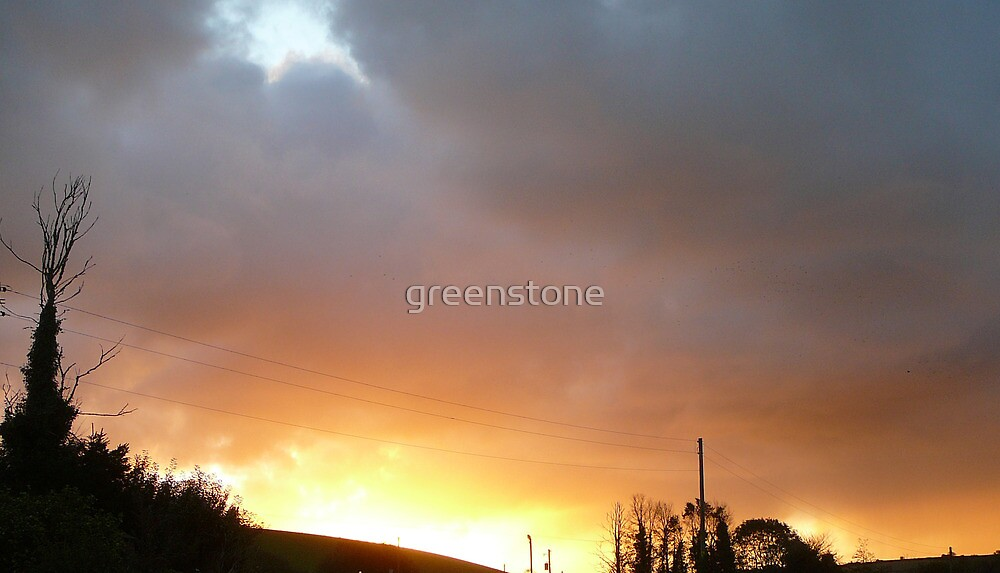 Drama In The Sky...Cornwall. by greenstone