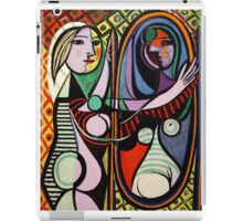 Picasso, Girl Before a Mirror iPad Case/Skin