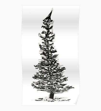 evergreen (haiga X) Poster