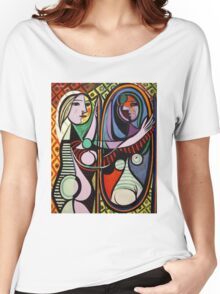 Picasso, Girl Before a Mirror Women's Relaxed Fit T-Shirt