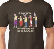 Clown Firing Squad Unisex T-Shirt
