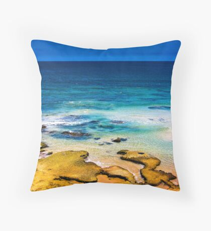 Ocean Colours Throw Pillow