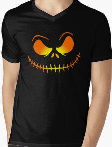 Jack Skellington 1 Mens V-Neck T-Shirt