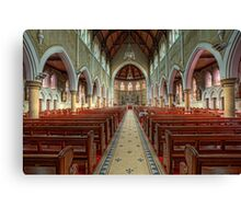 The Cathedral Church of Saints Mary & Joseph • Armidale • New South Wales Canvas Print
