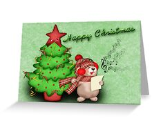 Happy Christmas Card Greeting Card