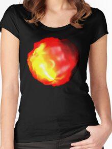 Fire Glow Women's Fitted Scoop T-Shirt