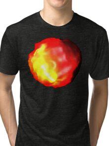 Fire Glow Tri-blend T-Shirt
