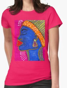 Color Me VIBRANT T-Shirt Womens Fitted T-Shirt