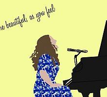 You're Beautiful as You Feel by itis2l84u