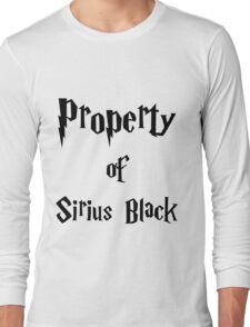 Property of Sirius Black Long Sleeve T-Shirt