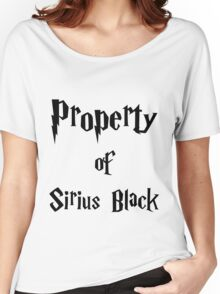 Property of Sirius Black Women's Relaxed Fit T-Shirt