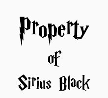 Property of Sirius Black Womens Fitted T-Shirt