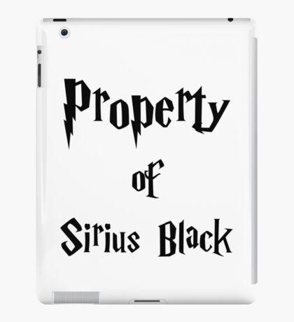 Property of Sirius Black iPad Case/Skin