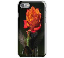 IPHONE COVER...HUMMINGBIRD ROSE iPhone Case/Skin