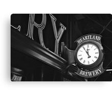 Eleventh Hour  Canvas Print