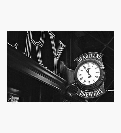 Eleventh Hour  Photographic Print