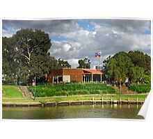 Boathouse Cafe at Moonee Ponds Poster