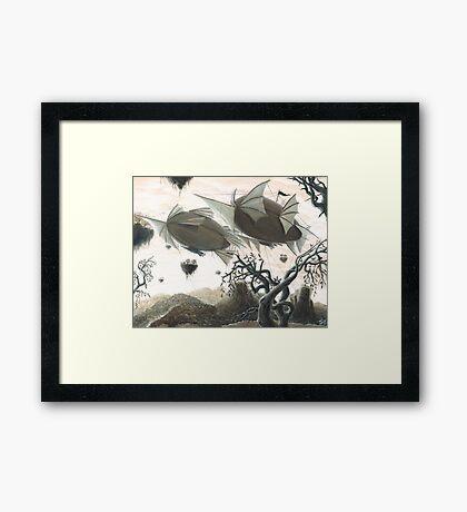 Lost City Framed Print