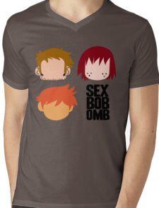 Scott Pilgrim - Sex Bob-Omb Band Shirt Mens V-Neck T-Shirt
