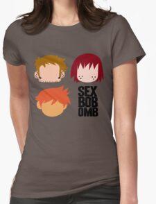 Scott Pilgrim - Sex Bob-Omb Band Shirt Womens Fitted T-Shirt