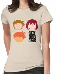 Scott Pilgrim - Sex Bob-Omb Band Shirt Womens Fitted T-Shirt