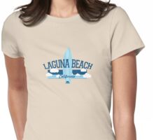 Laguna Beach - California. Womens Fitted T-Shirt