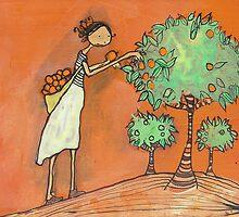 Orange Picker by Johanna Wright