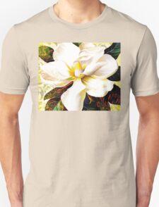 Tuscan Afternoon, Italian Magnolia, mediterranean colours Unisex T-Shirt