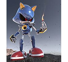 Metal Sonic to Ashes Photographic Print