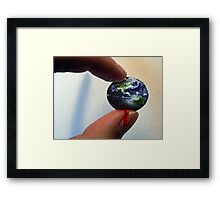 Squeeze Framed Print