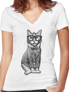 Catt Smith Women's Fitted V-Neck T-Shirt