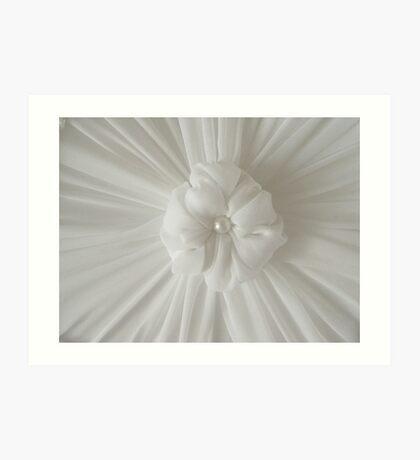 Rosette On My Custom Designed Lampshade Art Print
