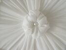Rosette On My Custom Designed Lampshade by Sandra Foster
