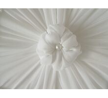 Rosette On My Custom Designed Lampshade Photographic Print