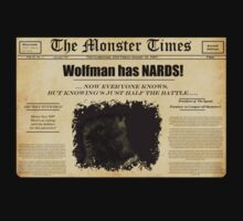 Monster Times: Wolfman Secrets by SholoRobo